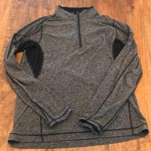 """Lululemon 1/4"""" zip performance sweatshirt"""